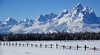 Not Sure What the Fence is For (DigitalSmith) Tags: tetons grandtetonnationalpark mountains wyoming