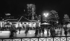 POTW 2016-12-25 - Skating on the Boston Common Frog Pond (BillDamon) Tags: boston bostoncommon skating frogpond winter
