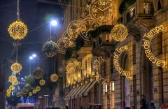 Via Montenapoleone in Christmas Time (Fil.ippo) Tags: viamontenapoleone montenapoleone night nightscape milan milano shopping xmas christmas natale lighting light d610 platinumheartaward