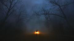 A Monster Calls (Nate Bittinger) Tags: virginia nate bittinger shenandoah national park conceptual surreal fog inspiration monster silhouette