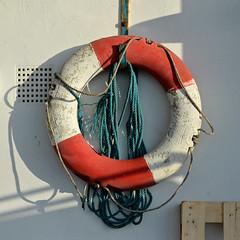 O (Breeze of the Dene) Tags: enso zero o circle life ring sea river orange white plastic nikon df 50mm f18 g wabi sabi wabisabi