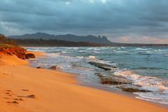 Nukoli'i Beach Sunrise (russ david) Tags: nukolii beach sunrise kauai september 2016 hi hawaii pacific ocean ハワイ 風景