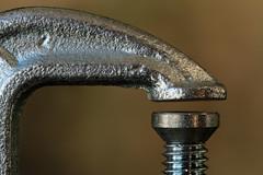 Clamp (arbyreed) Tags: arbyreed close closeup cclamp texture metal metalic metalictextures details
