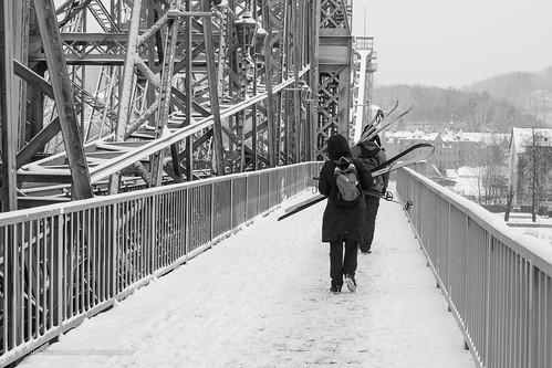 Snow Day in Dresden