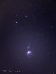 The Orion Nebula (T J G photography) Tags: astro d610 constellation bristol orion nikon 200mm star sky 70200 orionnebula stars nikkor