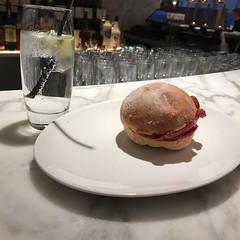 Breakfast of champions! #gin #bacon #breakfast #travel #breakfast #saintlucia #stlucia (lsdscuba) Tags: ifttt instagram scuba lsd