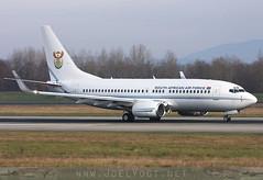 ZS-RSA (Joel@BSL) Tags: basel euroairport bsl mlh eap switzerland france boeing737 bbj businessjet southafrica