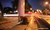 Giant African Snail, Kuala Lumpur, Malaysia, Ian Wade (Disorganised Photographer - Ian Wade - Travel, Wil) Tags: kuala lumpur malaysia urban night fisheye enviroment travel damp shell ian wade canon d5 mr11 light trail wildlife holiday aisa south east asia slow