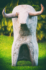 Yes (Thomas Hawk) Tags: fourseasons fourseasonspuntamita hotel mexico puntamita bull resort sculpture