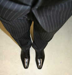 img_9254_2818714005_o (shinydressshoes) Tags: dress shoes dressshoes shiny shinyshoes patent leather formal oxfords pointed balmorals sheer sheers socks sox lackschuh anzug suit tux tuxedo shoeporn lackschuhe laceup
