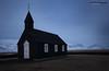 Budir Black Church, Snæfellsnes Peninsula, Iceland (Midlands Reptiles & British Wildlife Diaries) Tags: budir black church iceland budirblackchurch snæfellsnespeninsula wideangle david nixon winter snow 7dmkii sigma 1020mm