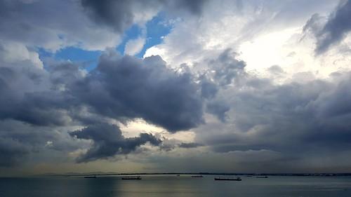 the Sea of Penang, Malaysia