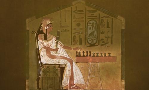 "Senet - Lujoso sistema de objetos lúdicos obsequio del dios Toht a la faraona Nefertari • <a style=""font-size:0.8em;"" href=""http://www.flickr.com/photos/30735181@N00/32399621741/"" target=""_blank"">View on Flickr</a>"