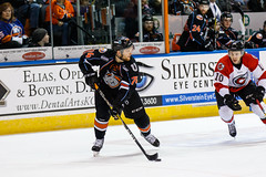 "Missouri Mavericks vs. Cincinnati Cyclones, January 25, 2017, Silverstein Eye Centers Arena, Independence, Missouri.  Photo: John Howe / Howe Creative Photography • <a style=""font-size:0.8em;"" href=""http://www.flickr.com/photos/134016632@N02/32558226865/"" target=""_blank"">View on Flickr</a>"