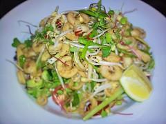 chilli salt calamari salad (2) (sugarandcyanideevents) Tags: asian thai chilli calamari beansprouts springonion food