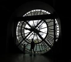 Orsay´s Clock (elianek) Tags: paris europe france orsay museum museu europa frança blackandwhite baw peb pretoebranco monocromatico monocromatic clock travel orsaymuseum
