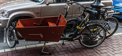 WORKCYCLES - AN UNUSUAL BICYCLE [WE DO NOT SEE MANY OF THEM HERE IN DUBLIN]-124964 (infomatique) Tags: bicycle streetsofdublin workcycles ireland streetphotography williammurphy infomatique
