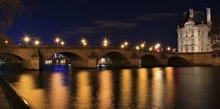 Pont Royal Pavillon de Flore Paris France