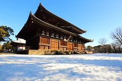 Toji temple (Teruhide Tomori) Tags: 教王護国寺 東寺 京都 世界遺産 日本 tojitemple architecture woodenbuilding construction winter snow 冬 雪