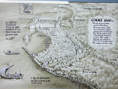 Girne - castle harbour info board (2)