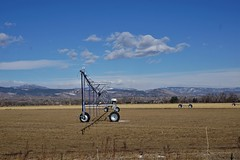 Water Delivery (Let Ideas Compete) Tags: pivot sprinkler irrigation water field agriculture farm
