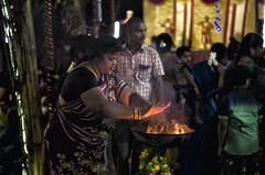 Spiritual Faith (Ivon Murugesan) Tags: faith prayer belessing bless spiritual regligion hindu people festival places india mamallapuram mahabalipuram tamilnadu night photogrpahy outdoor fire flickrtravelaward
