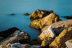 Glass, rocks and shadows (Anthony P26) Tags: category erdek places seascape sunset travel turkey evening canon1585mm canon70d canon rock rocks stones shadows stone shadow water sea marmarasea coastal coast outdoor travelphotography