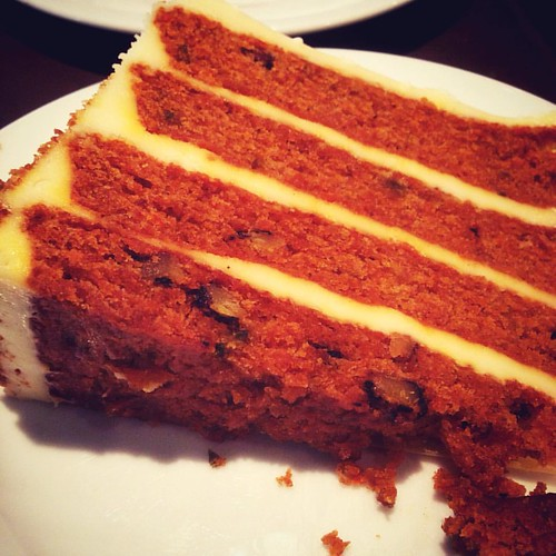 Carrot cake is to die for! 😘. #cakesoverload #FoodPorn #foodgasm #NoDiet