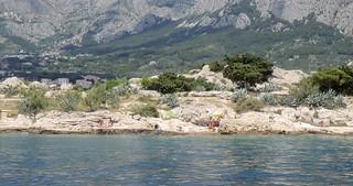 Naturist paradise on the Dalmatian coast of Croatia