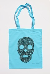 Swirly Skull Tote (forgetmenot) (Wayne Chisnall) Tags: pink blue red orange green yellow skulls skeleton grey screenprint lilac cotton bones forgetmenot bags tote shopper totes deathshead totebags shoppingbags tattoodesign screenprints artprints tattoodesigns sull deathhead screnprint cottonshoppingbags cottontotes artbags skulldesign cottonshoppingbag skulldesigns shopperbags skeletondesign artistsscreenprints colouredtotes skeletondesigns artistsbags greygreenlilac artshoppingbags