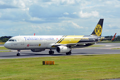 TC-JSJ A321 Turkish EGCC 15/8/15 (David K- IOM Pics) Tags: park man manchester airport colours aircraft jet special airbus airlines viewing dortmund turkish avp livery a321 ringway egcc tcjsj