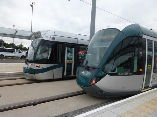 Nottingham Express Transit (Phase 2) - Tram 215 & 223