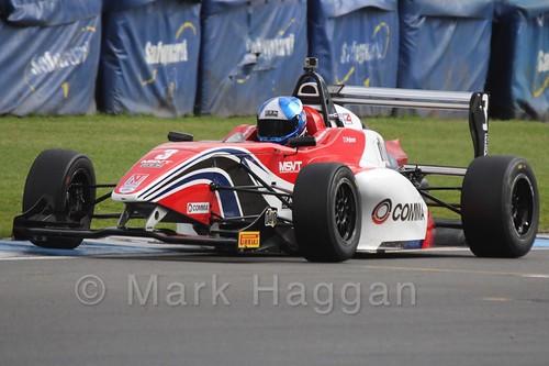 HHC Motorsport's Will Palmer in BRDC F4 at Donington Park, September 2015