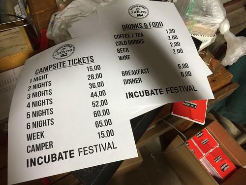 Incubate Campsite 2015