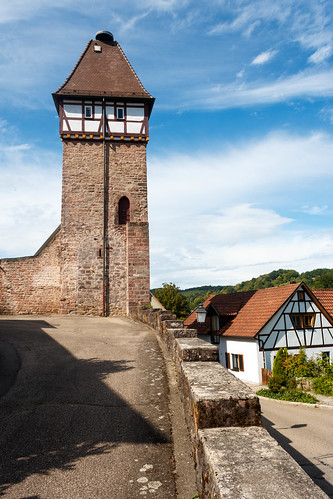 "La ""Storchenturm"" à Gernsbach"