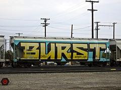 BURST (dim9th) Tags: graffiti trains boise burst