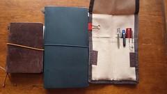 Road kit (Wayne Wolfson) Tags: writing derwent sketching lamy sketchkit travelkit waynewolfson midoritraveler midoripassport strangetalesfromtheroad uniballkurutoga