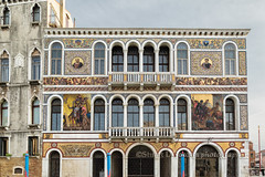 Building Facade Artwork (chasingthelight10) Tags: travel venice italy photography landscapes europe architecturaldetail events cityscapes places things canals vistas