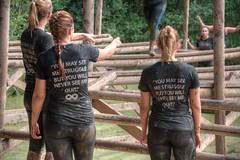 girl power (stevefge) Tags: girls people netherlands sport nijmegen mud nederland event strong nederlandvandaag strongviking
