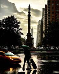 Rain and shadows.... #cab#travel#destination #city #citylife #explore #sky#skyscrapers #clouds #fun#hobbylobby #contrast#humanplanet #humannature #manhattan #lovenewyork #newyork_instagram #reflection#rain#dark#shadows#building #monument #nikon #nikond520 (michasekdzi) Tags: life street city newyorkcity people building square fun cab taxi streetphotography hobby explore squareformat iphoneography humanplanet instagramapp uploaded:by=instagram