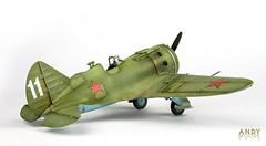 Eduard I-16 Type 24 (Andy R Moore) Tags: canon worldwarii soviet russian scalemodel eduard 148 polikarpovi16 eos650d borissafonov
