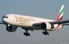 Emirates 777-300(ER) A6-ECQ (birrlad) Tags: ireland dublin airplane airport dubai aircraft aviation airplanes uae landing emirates international finals airline boeing arrival airways approach airlines 777 runway dub airliner arriving b777 777300er b773 77731her a6ecq