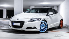 honda crz 3 (DeSined Pictures) Tags: blue white color girl honda germany amazing nikon shoes parking wheels style tires chilling shooting hybrid tuning stance crz 18105mm d3300 desinedpictures
