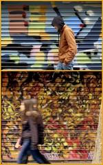automne (YOUGUIE) Tags: streetart paris graffiti montage graff stesi saeio