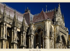 La cathdrale Notre-Dame de Reims (Marne, Champagne, France) (LauterGold) Tags: cathedral champagne kathedrale cathdrale reims unescoworldheritage weltkulturerbe marne contreforts patrimoinemondial cathdralenotredamedereims