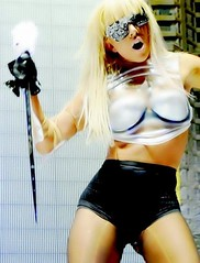 (waluntain) Tags: celebrity strange beautiful lady crazy famous fame odd diva kinky odds gaga ladygaga