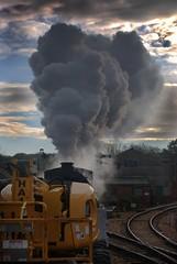 Steam powered Works Train (18Ningwood) Tags: train railway steam isleofwight works locomotive 192 waggoner havenstreet