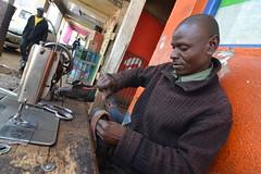 DSC_3121 (DJ_Hoffman) Tags: africa street travel photography nikon kenya streetphotography documentary economy cobbler streetscenes developingcountry eldoret informal documentaryphotography