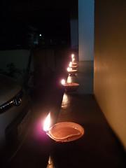 Karthika(Festival of Lights) (shyam_nair3) Tags: candles karthika oillamps