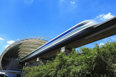 Il Giappone prova il treno a levitazione magnetica per i trasporti pubblici (DaVinciTech) Tags: treno trasporti levitazione altavelocità trasportipubblici levitazionemagnetica lzero